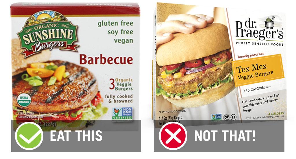 Eat this best worst bbq veggie burgers