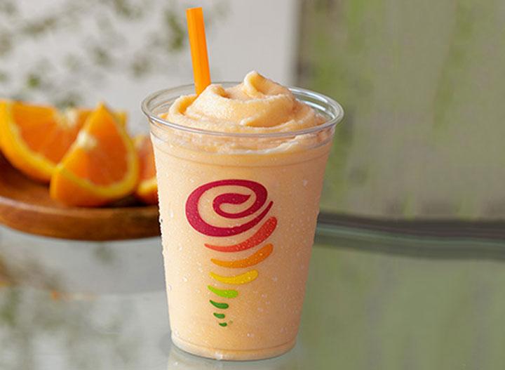Jamba juice orange dream machine
