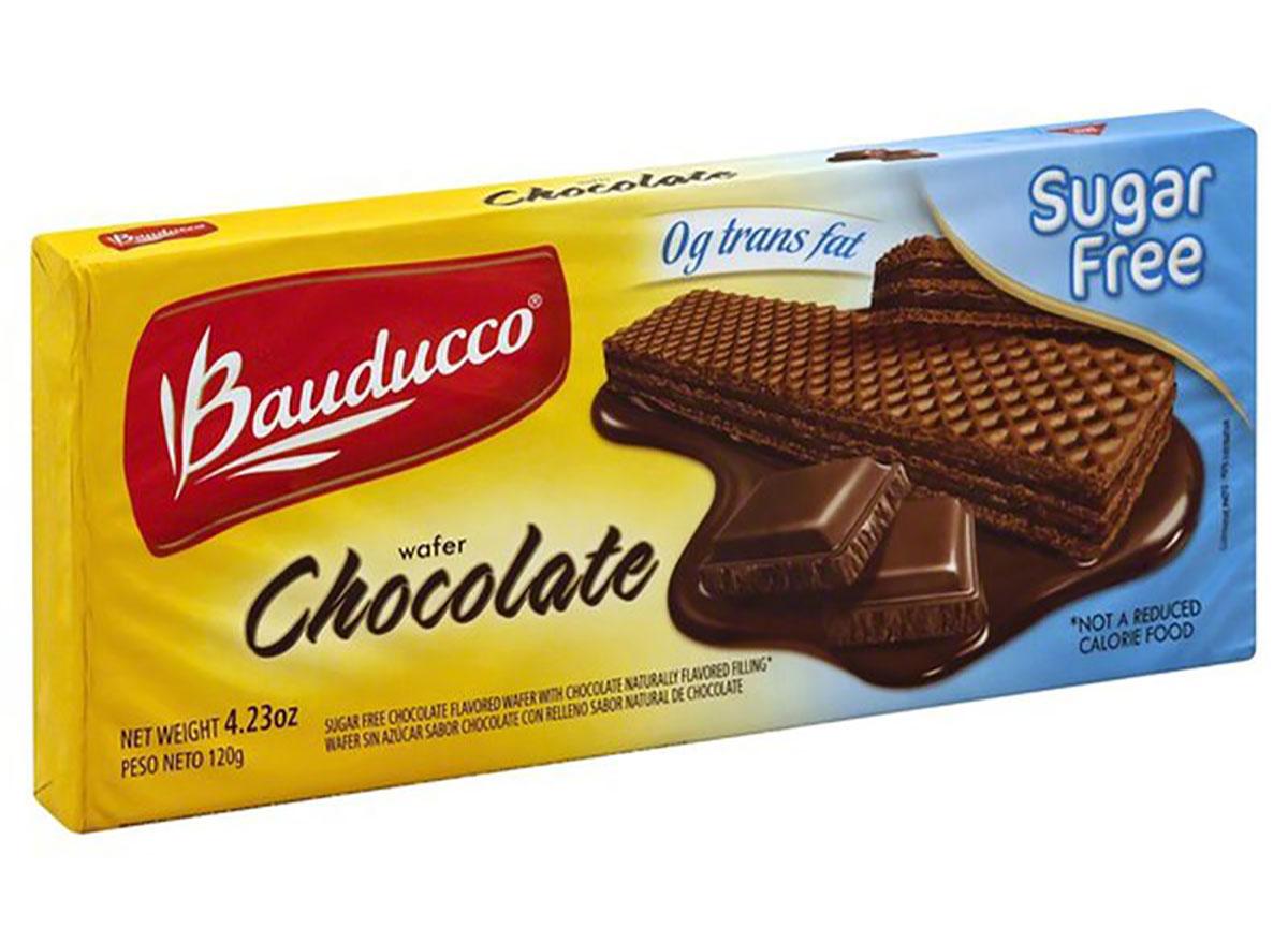 bauducco sugar free chocolate wafers
