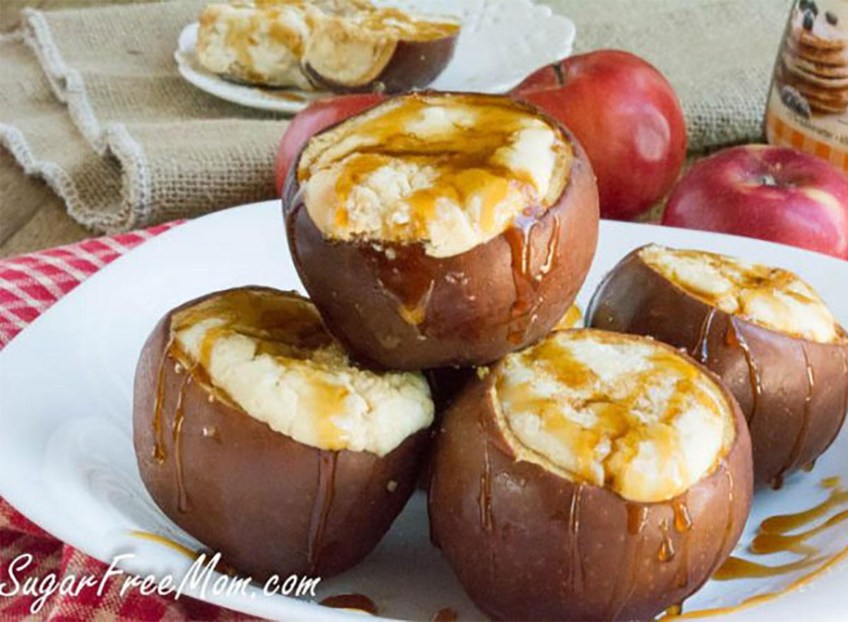 cheesecake stuffed apples