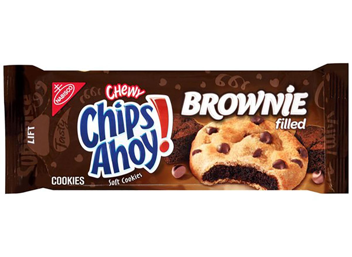 chips ahoy brownie filled cookies