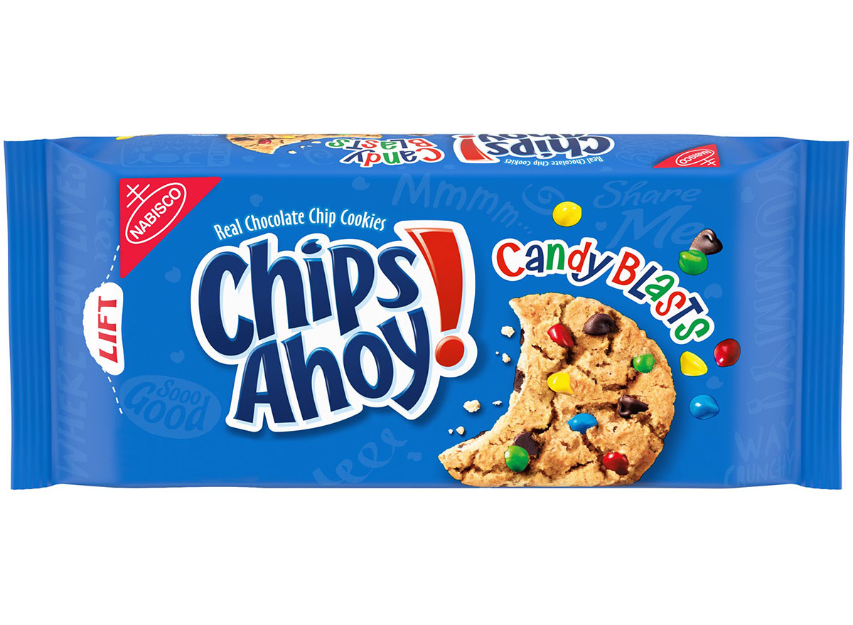 chips ahoy candy blasts cookies