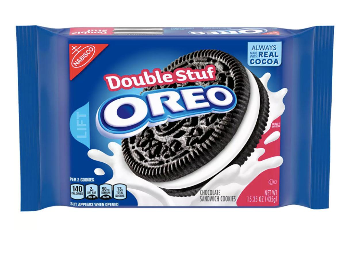 double stuff oreo cookies