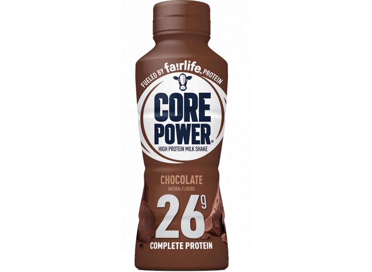 Fairlife core power high protein milk shake