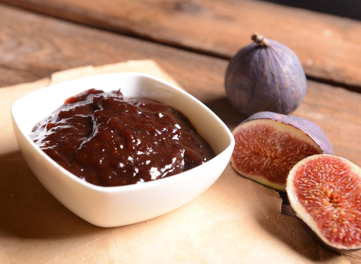 Fig puree jam
