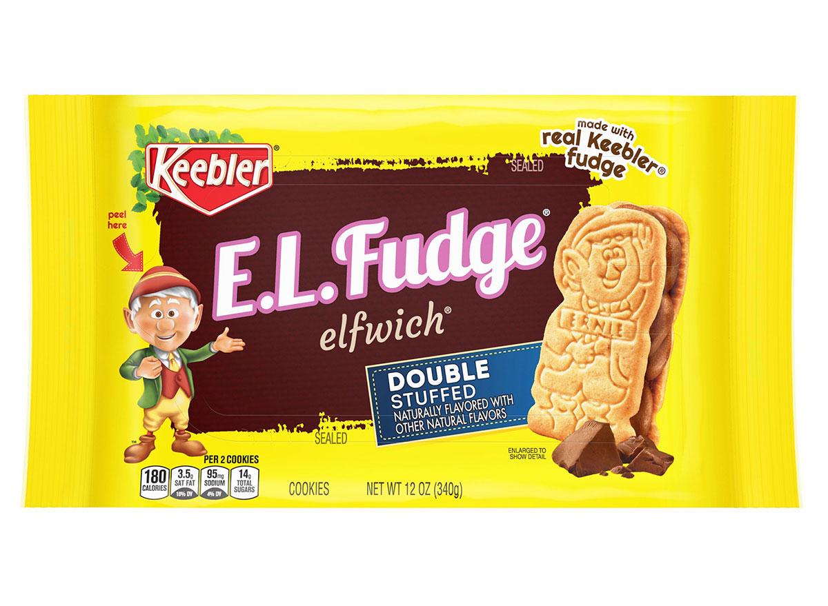 keebler el fudge double stuffed cookies