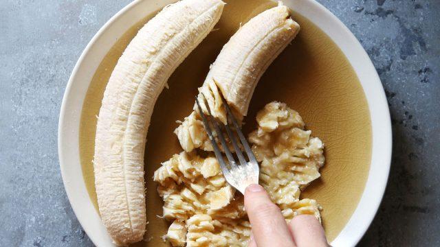 Mashed banana sugar substitute