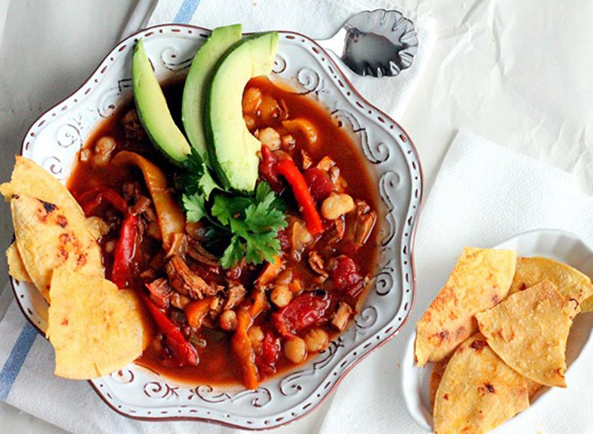 chili chicken soup