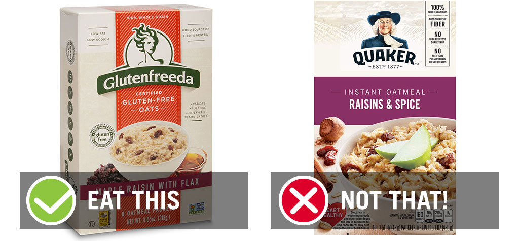 Eat this not that cinnamon raisin instant oatmeal - best instant oatmeal