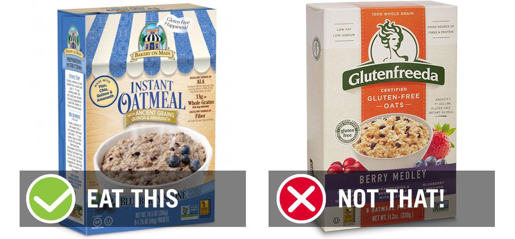 Gluten free instant oatmeal blueberry - best instant oatmeal