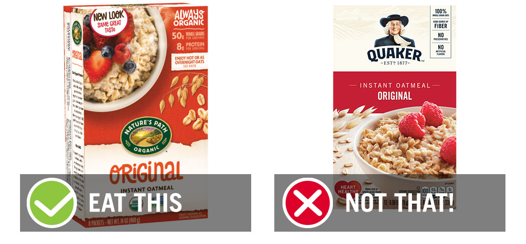 eat this not that original oatmeal instant oatmeal - best instant oatmeal