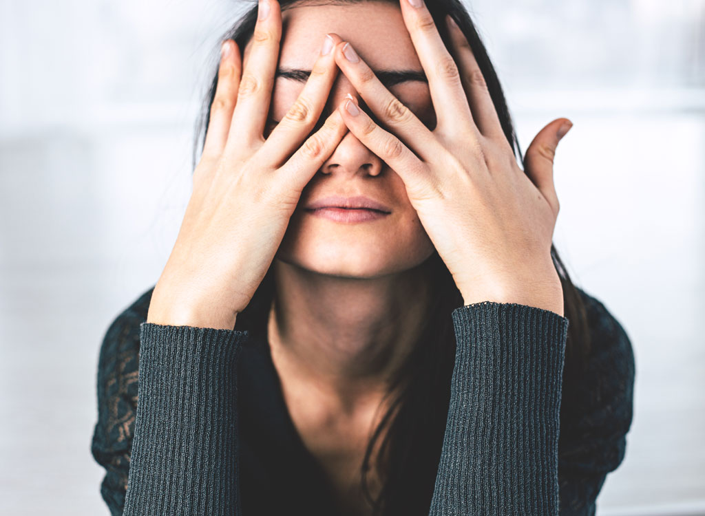 Woman stressed - always hungry reasons