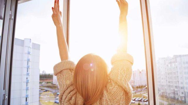 Sunrise morning motivation