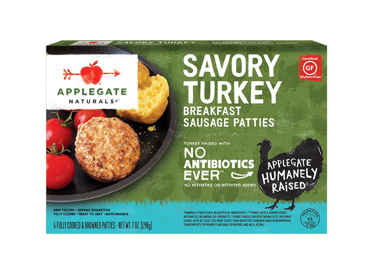 applegate savory breakfast sausage patties
