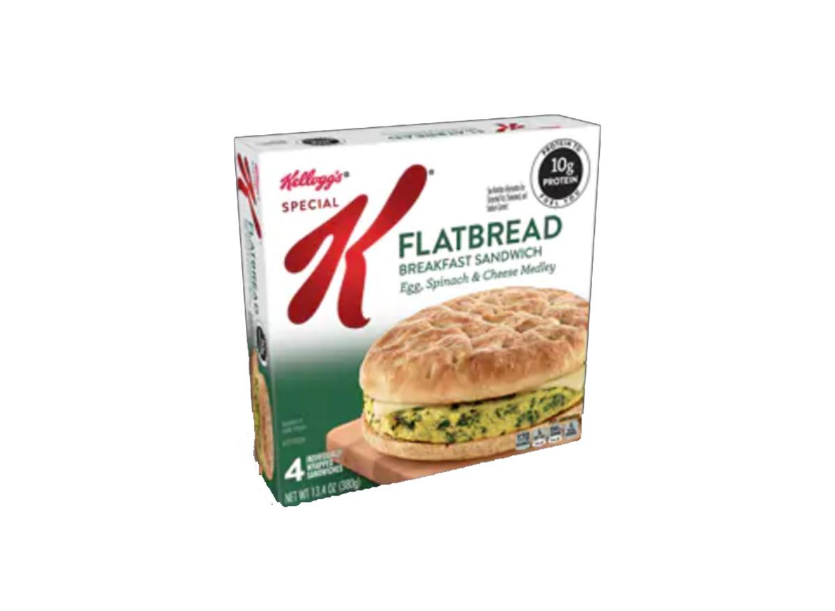 special k breakfast flatbread
