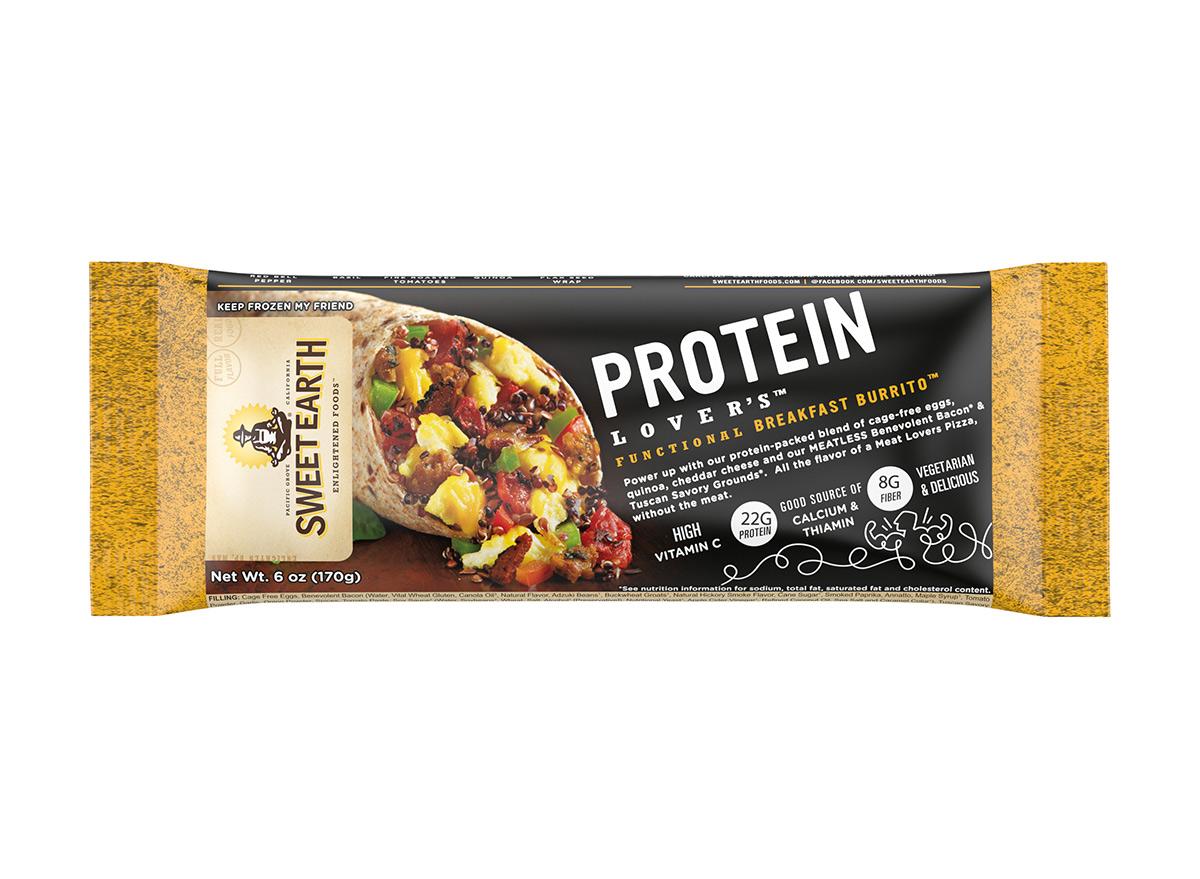 sweet earth protein burrito