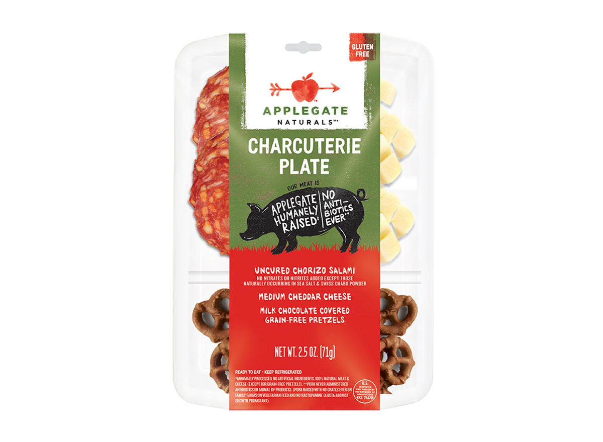 applegate naturals packaged charcuterie plate