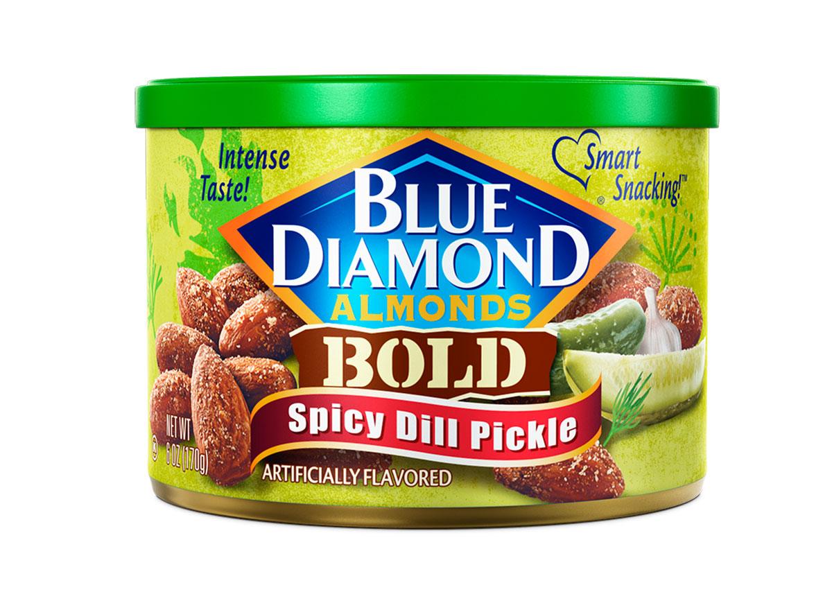 blue diamond spicy dill pickle almonds
