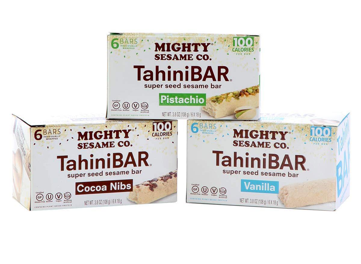mighty sesame tahini bars