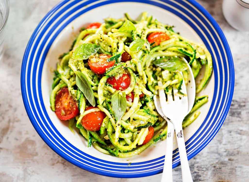 Zucchini noodles zoodles