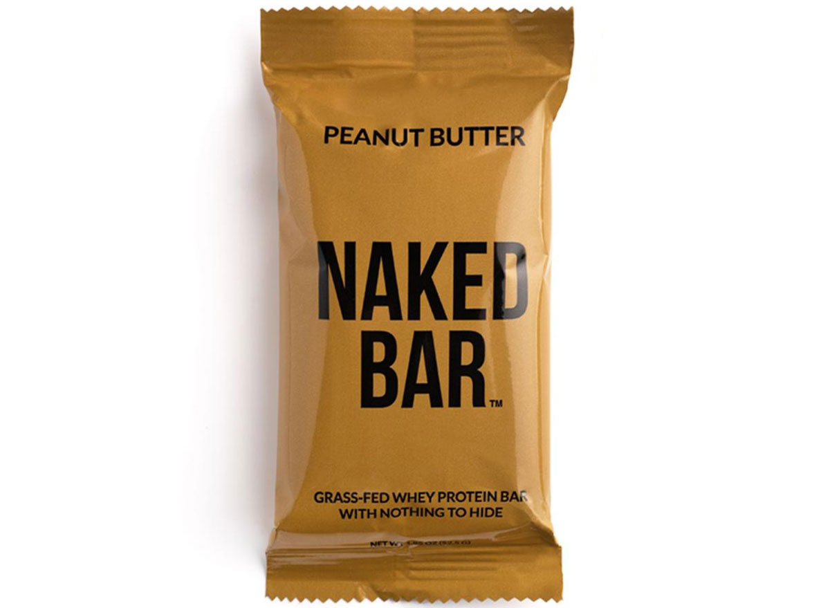 Naked nutrition peanut butter protein bar