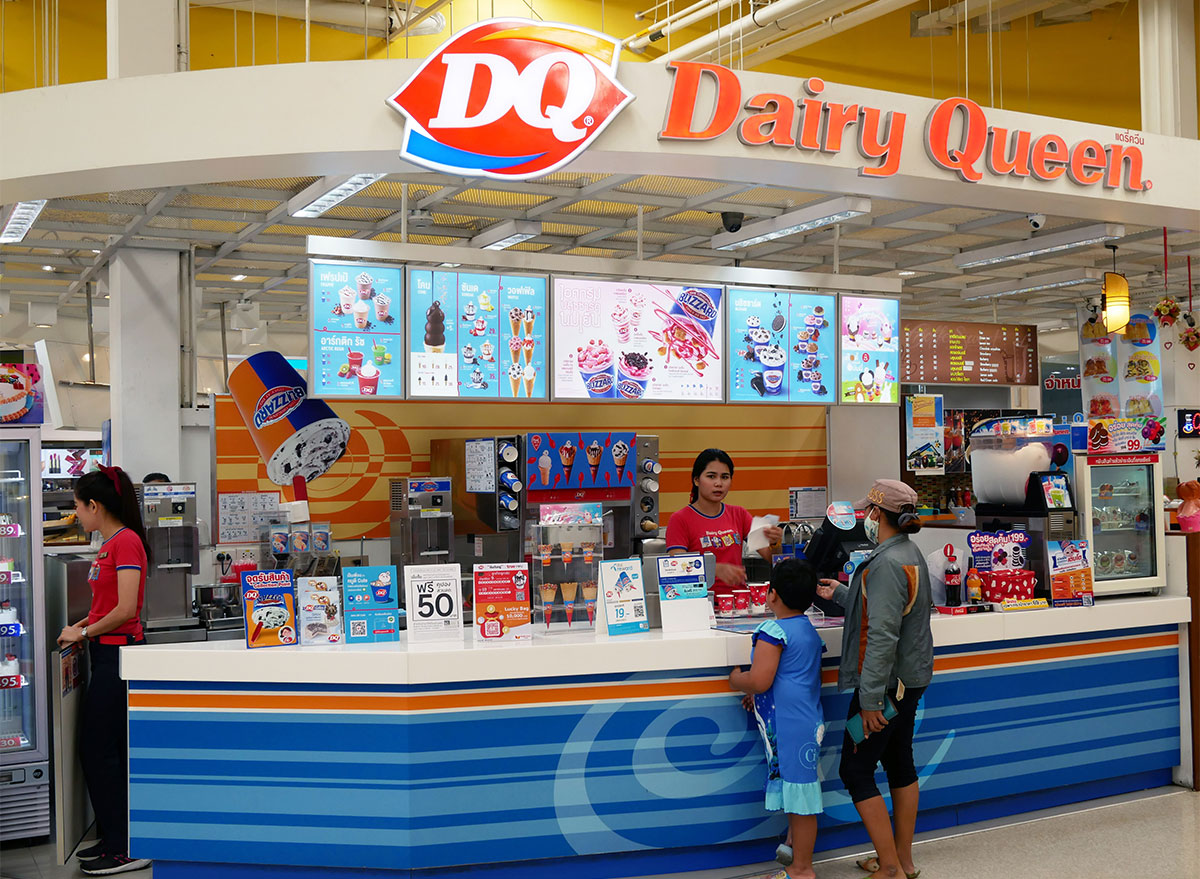 dairy queen location in mall