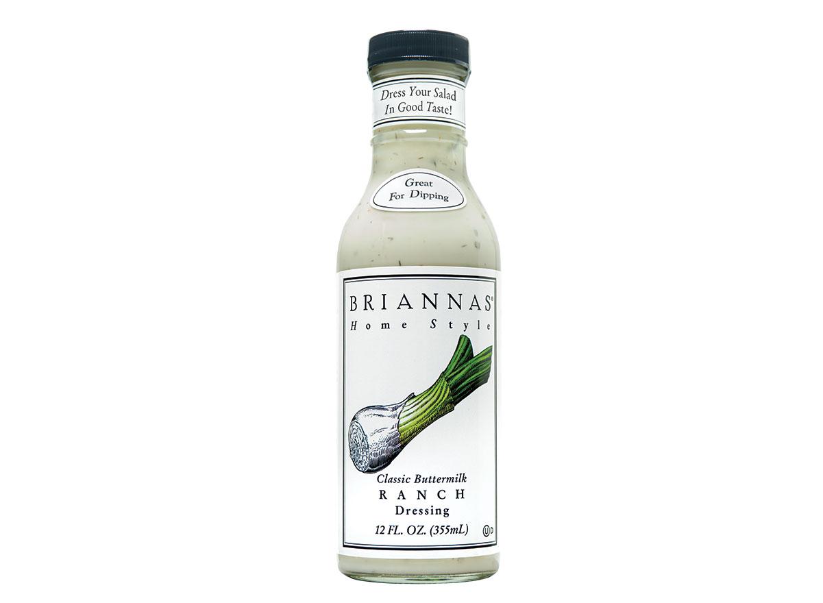 bottle of briannas buttermilk ranch