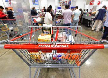 Costco wholesale shopping cart
