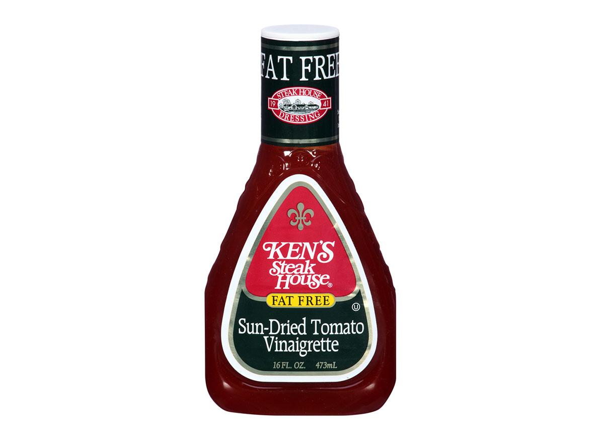 bottle of kens fat free sundried tomato vinaigrette