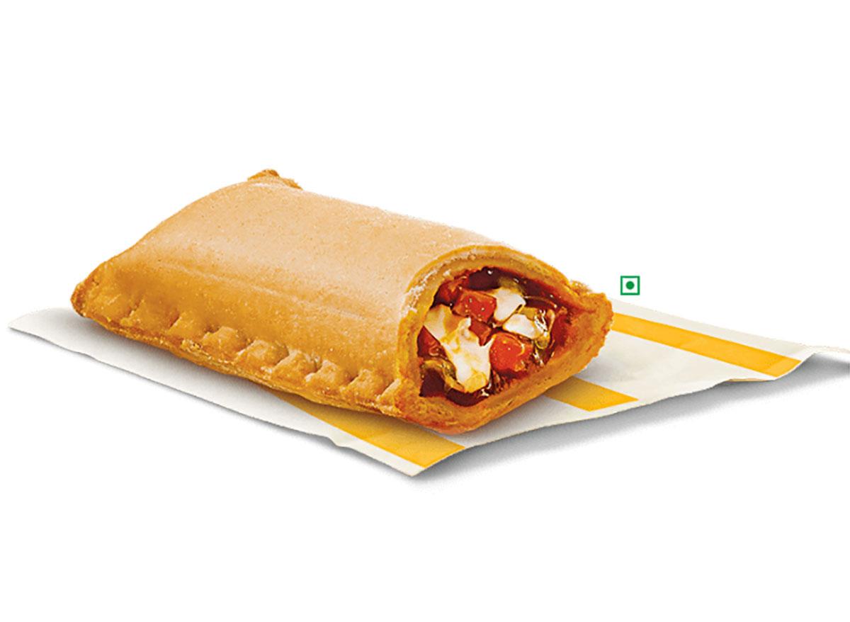 mcdonalds india pizza mcpuff