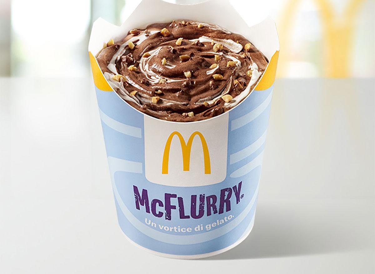mcdonalds italy baci mcflurry
