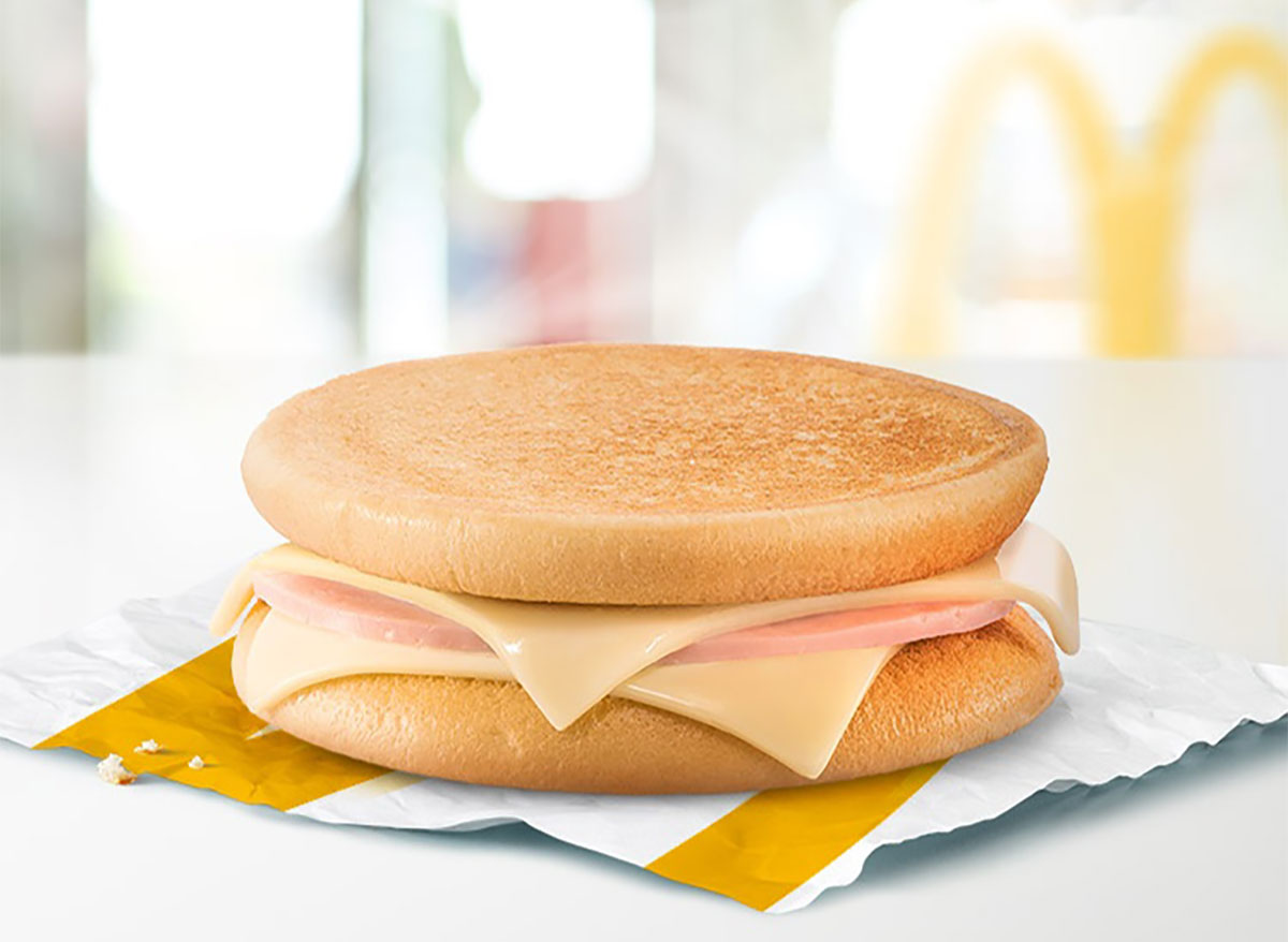 ham and cheese mctoast sandwich from mcdonalds italy