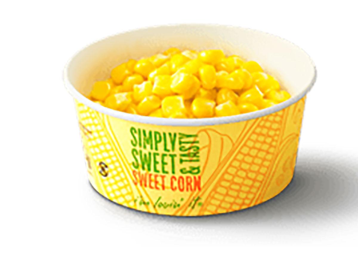 sweet corn from mcdonalds japan