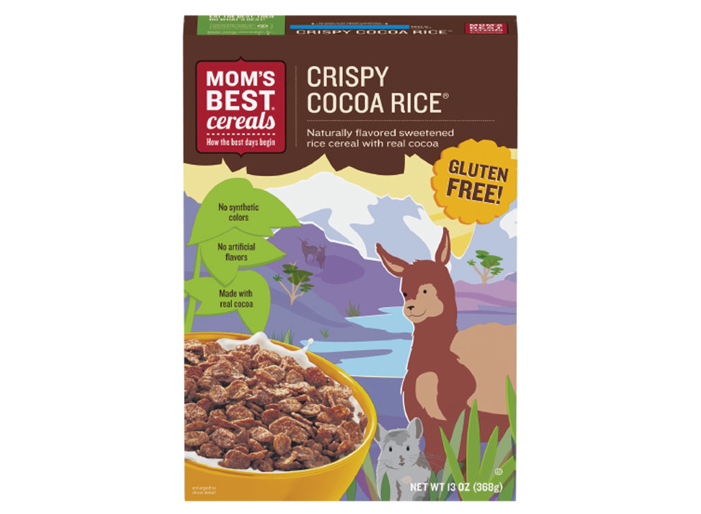 Moms best crispy cocoa rice cereal - unhealthiest worst cereals