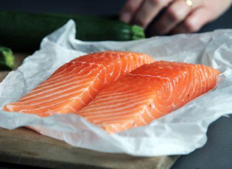 Wild salmon fillet