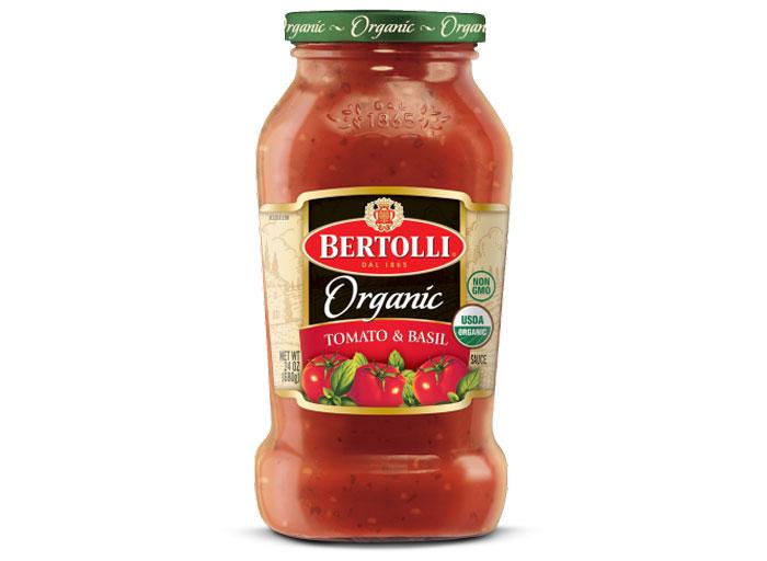 bertolli organic tomato basil sauce