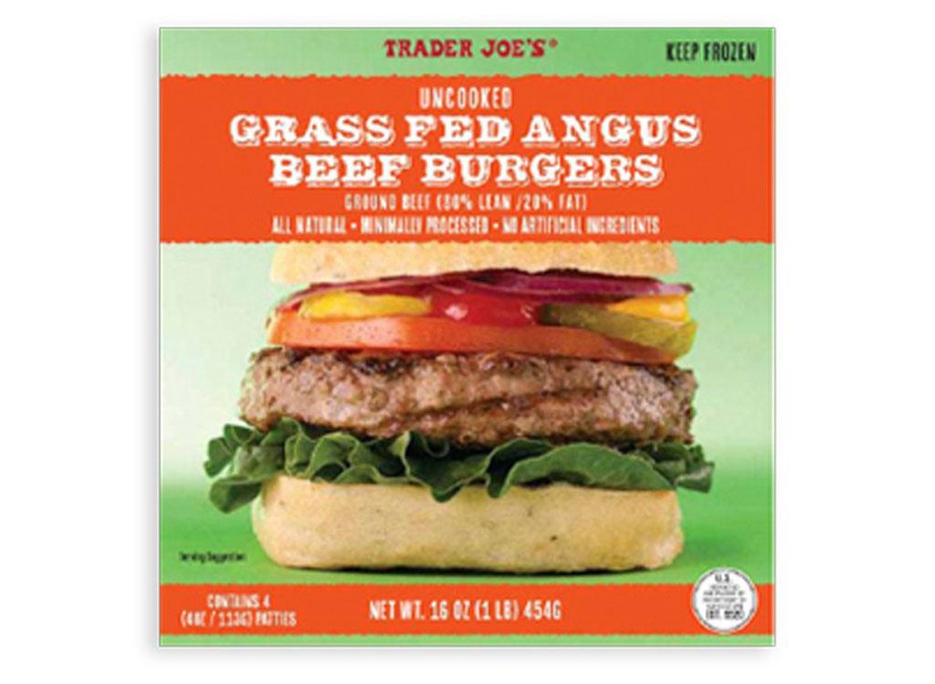 Trader joes angus beef patties