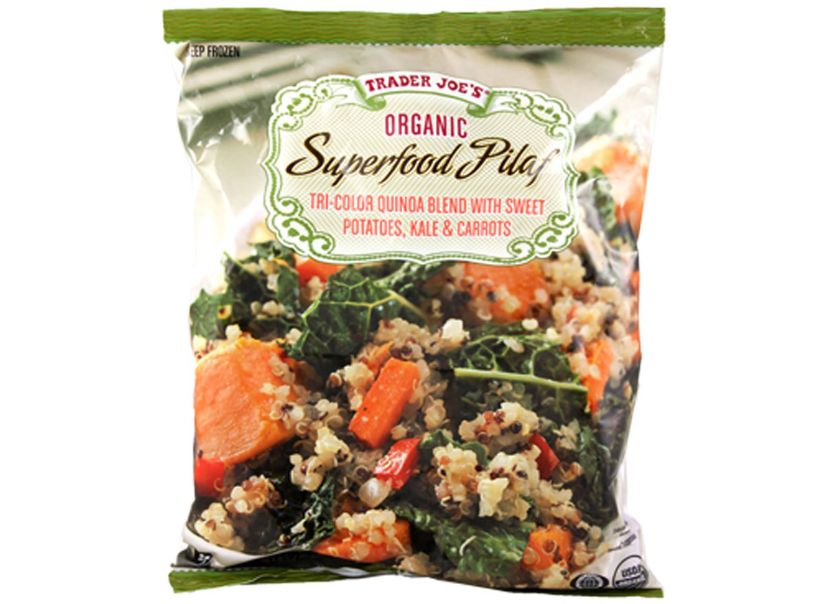 Trader joes organic superfood pilaf
