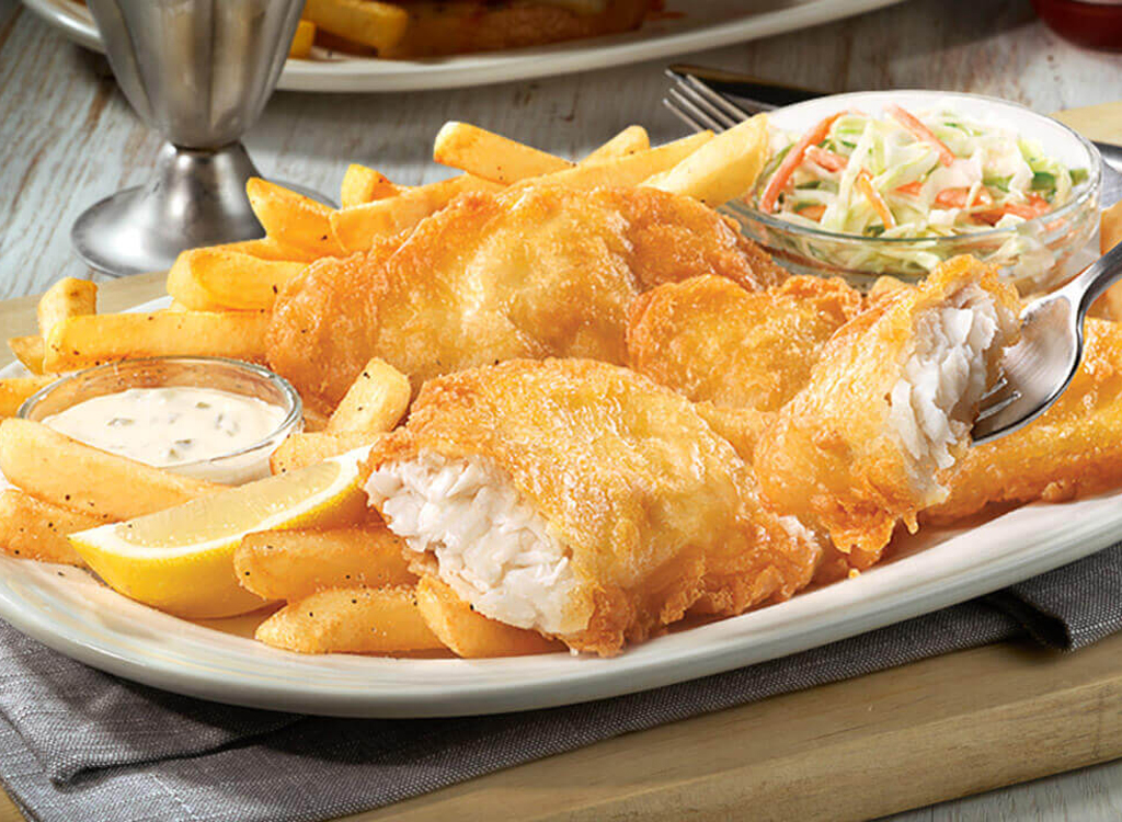 Friendly's fish and chips