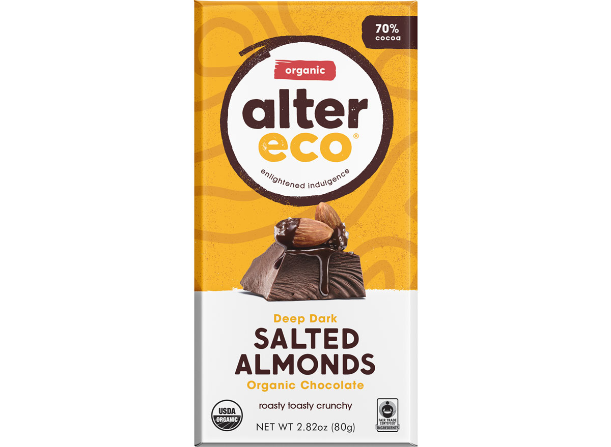 Alter eco dark chocolate almond