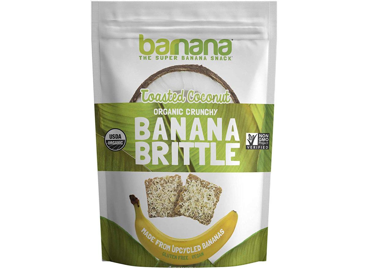 Barnana toasted coconut banana brittle