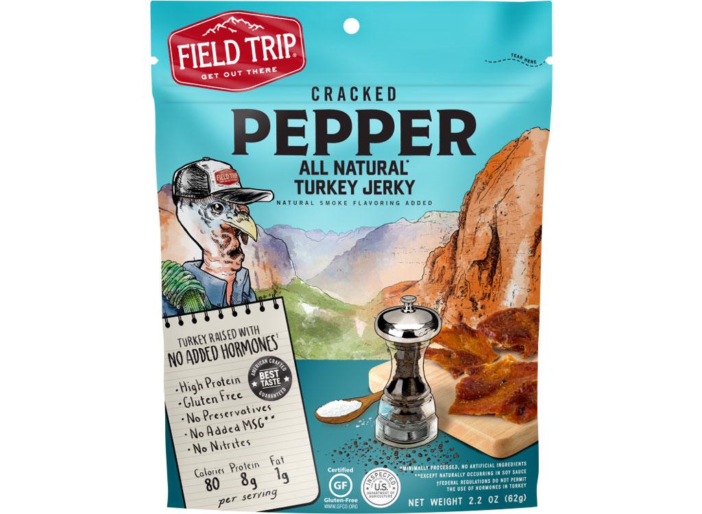 Field trip cracked pepper turkey jerky
