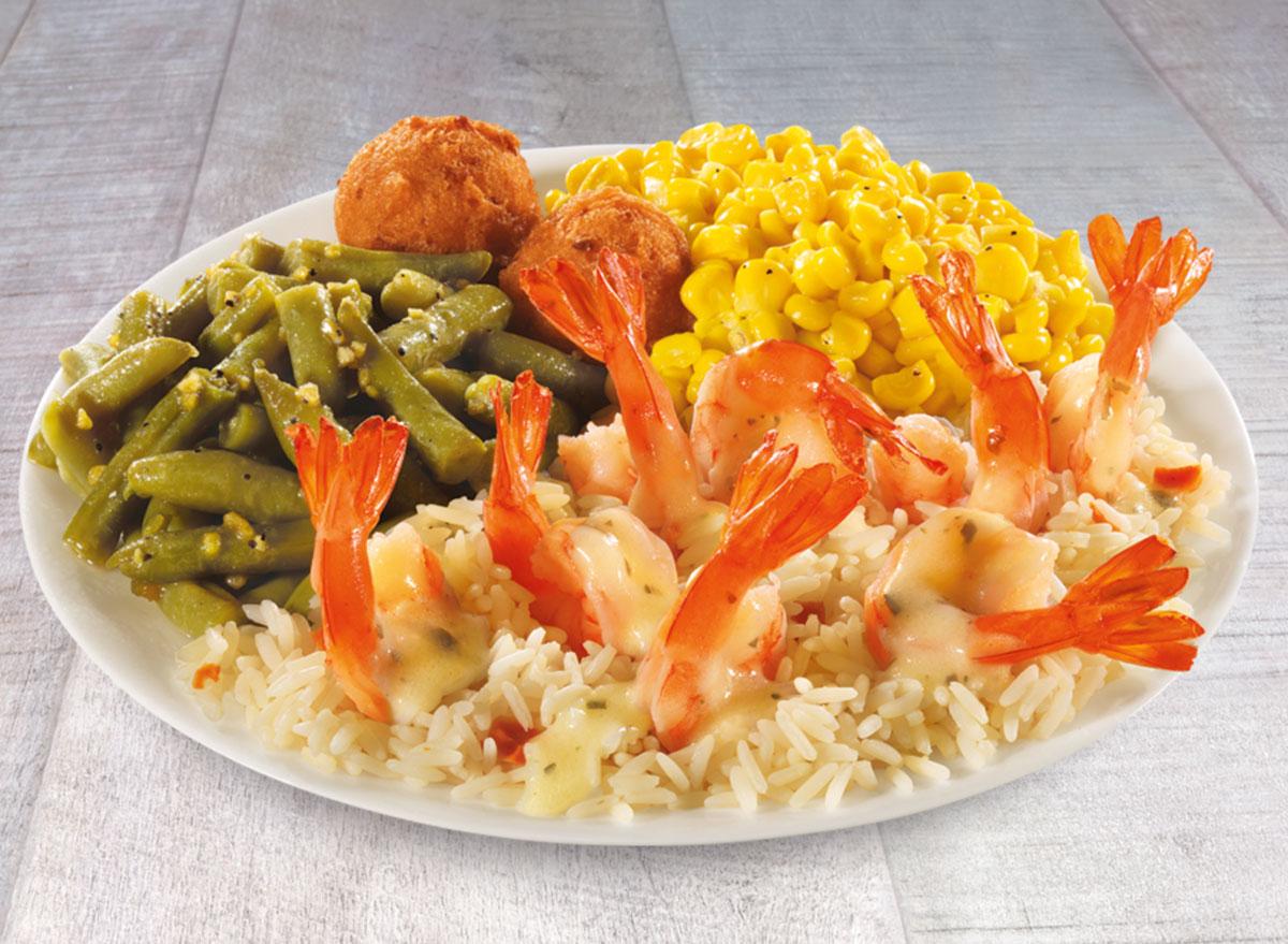 Long john silvers baked shrimp - low calorie restaurant orders under 500 calories