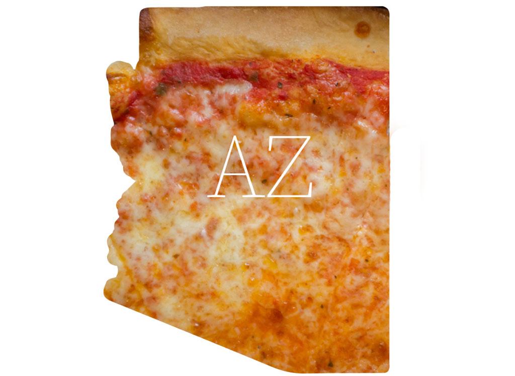 Arizona cheese pizza