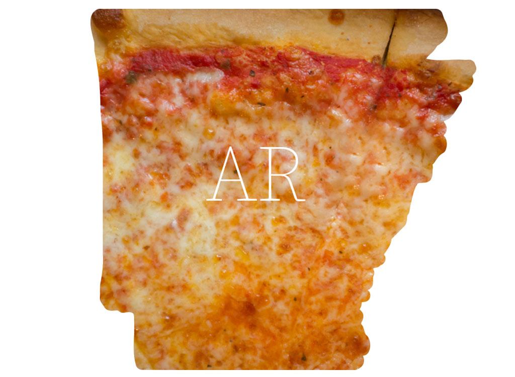 Arkansas cheese pizza