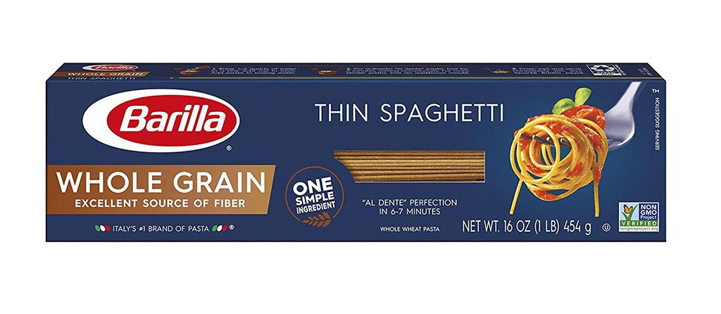 Barilla Whole Wheat Thin Spaghetti