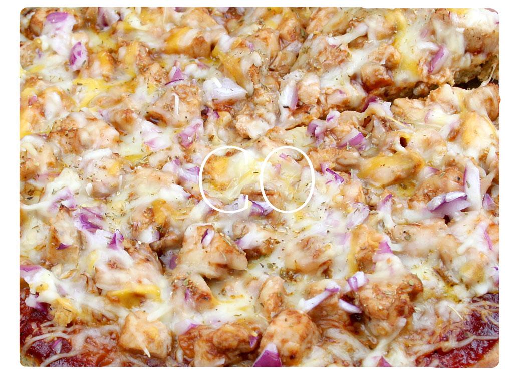 Colorado BBQ chicken pizza