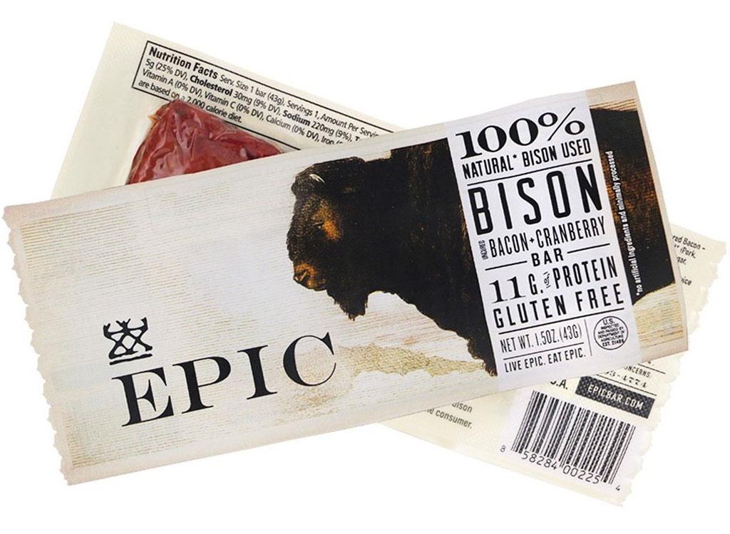 Epic bison bar