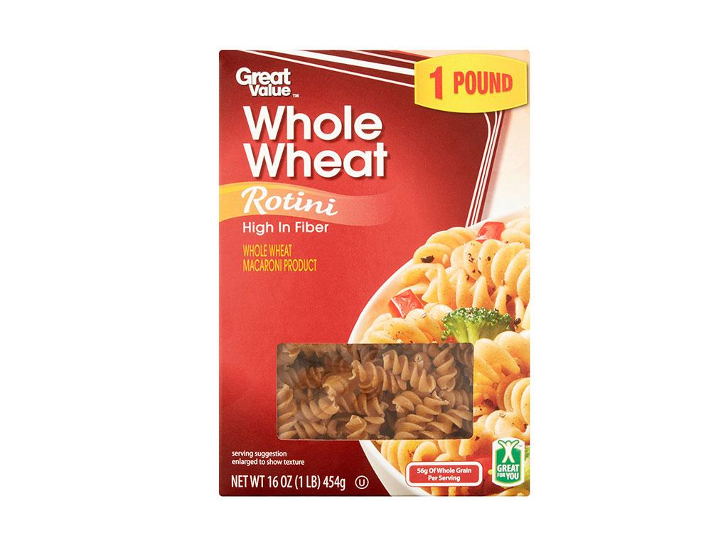 Great Value Whole Wheat Rotini