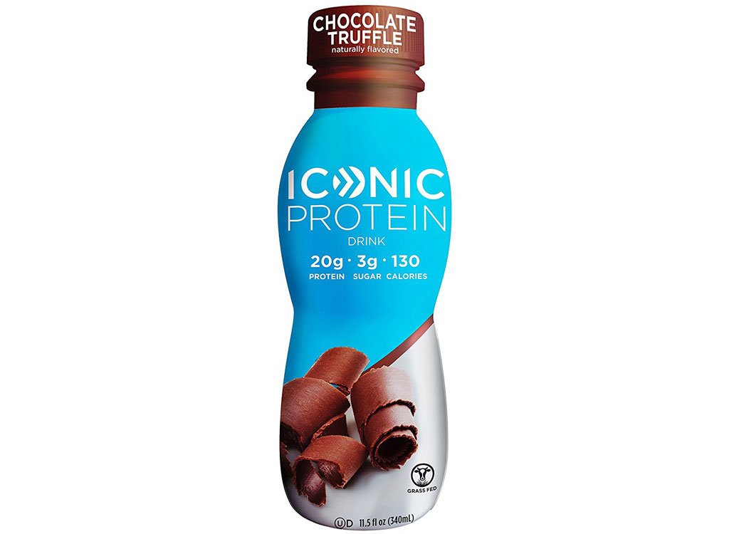 Iconic protein drink - best high protein snacks